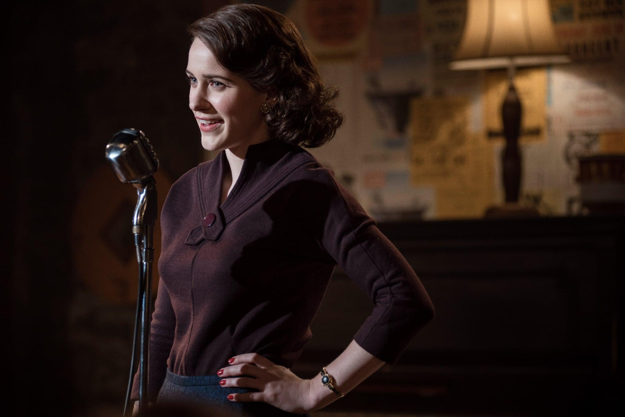 THE MARVELOUS MRS. MAISEL,  Rachel Brosnahan in 'Doink' (Season 1, Episode 5, aired November 29, 2017). ph: Nicole Rivelli/ Amazon/courtesy Everett Collection
