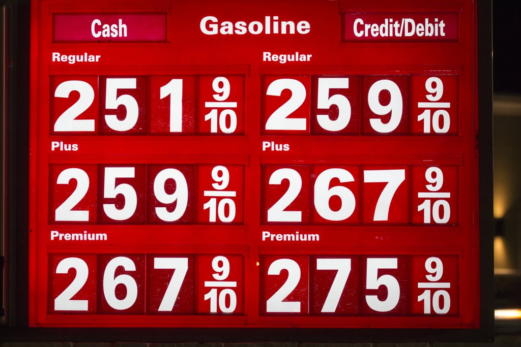 1. Your gas price watch becomes a distant memory