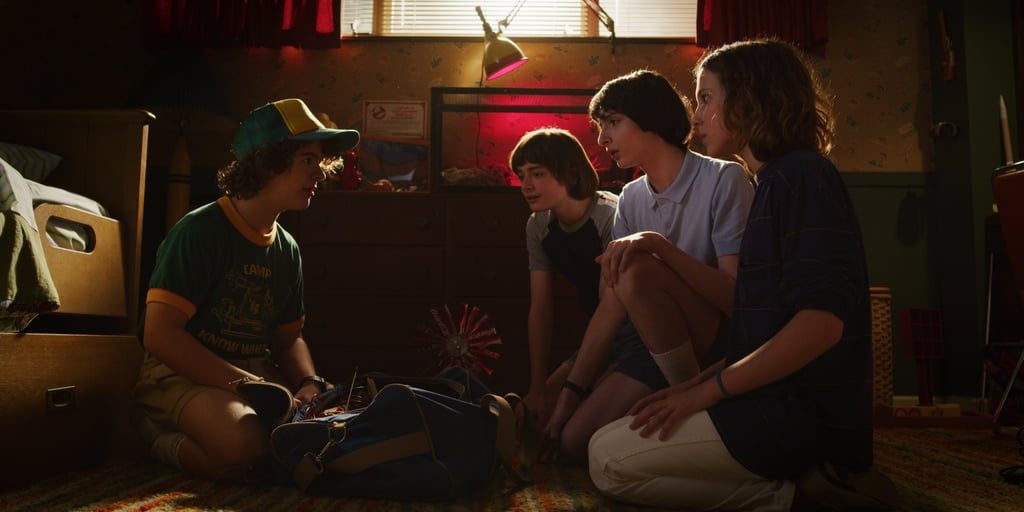 What could the gang be discussing in this powwow? We wonder . . .