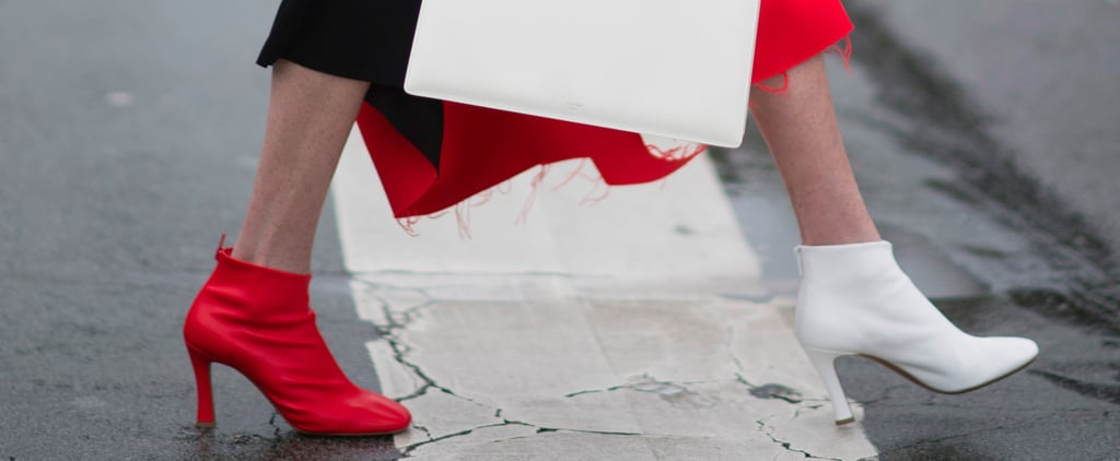 Fashion Girls Are Wearing Mismatched Shoes on Purpose — and It's Genius