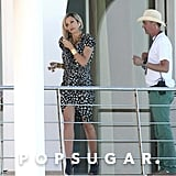 Cameron Diaz was dressed up to shoot for The Counselor in Spain.