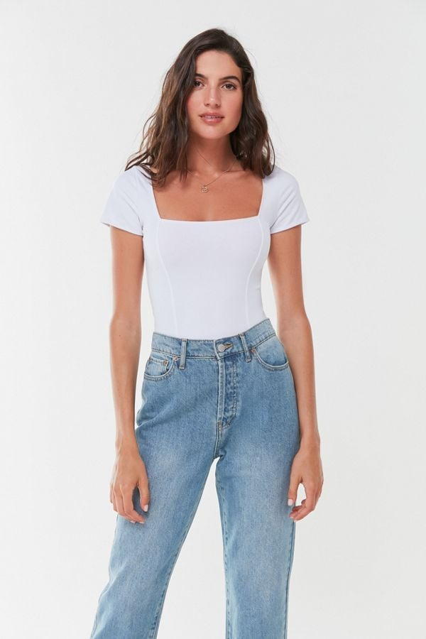 Out From Under Susan Square-Neck Bodysuit