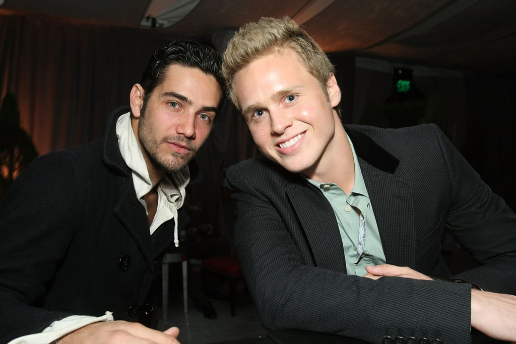 Justin Bobby and Spencer Pratt hung out in LA in October 2008.