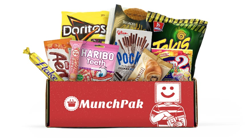 A Monthly Snack Box to Satisfy Cravings