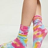 PacSun LA Hearts Tie Dye Socks