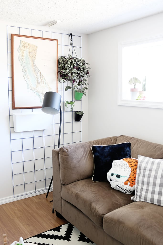 Use caging to create more hangable wall space.