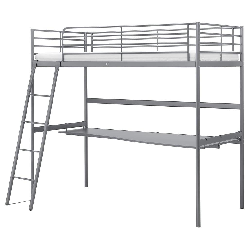 Sv 228 Rta Loft Bed Frame With Desk Top Best Ikea Bedroom