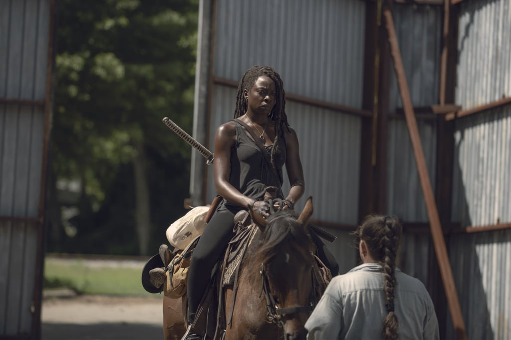 """Michonne """"Trust No B*tch* Grimes Is Playing No Games"""