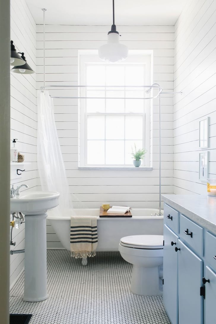 Small Bathroom Remodel Shower Farmhouse