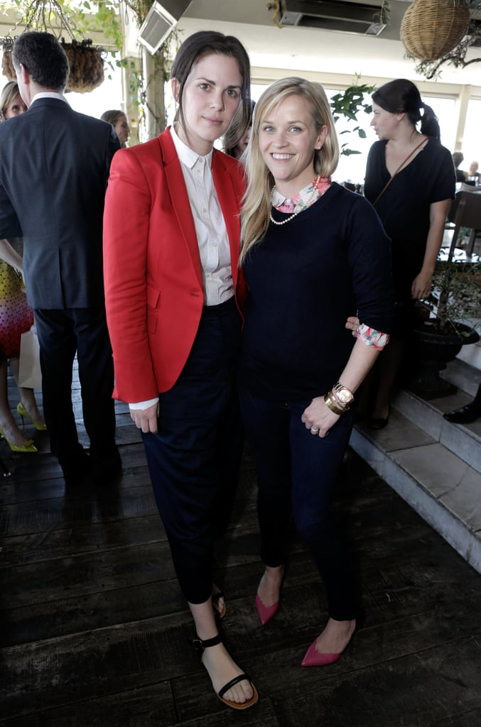Reese Witherspoon posed with stylist Leslie Fremar at the 25 Most Powerful Stylists Luncheon in LA on Wednesday.