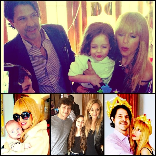 Rachel Zoe and Rodger Berman celebrated Skyler's third birthday surrounded by family and friends —including baby brother Kaius. Source: Instagram user rachelzoe