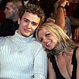 Justin Timberlake et Britney Spears en 2000