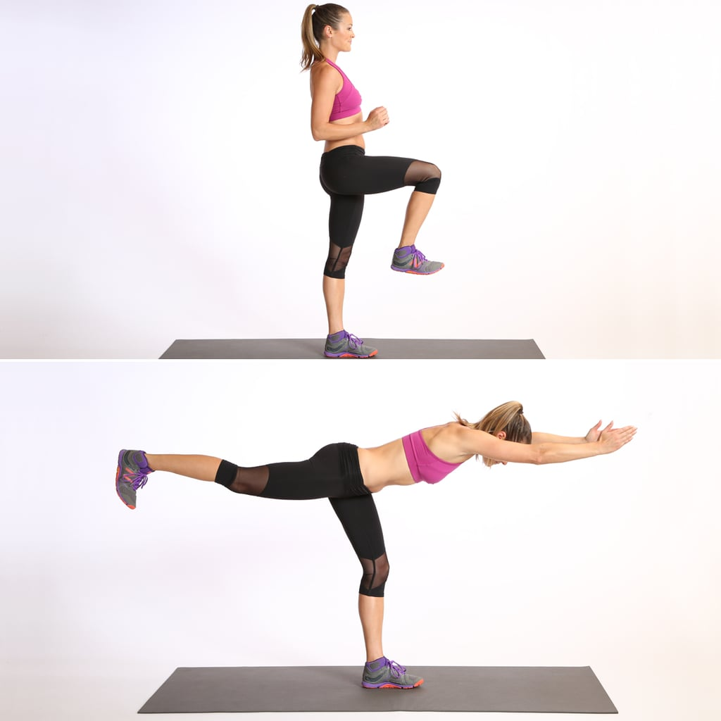 Lower Body: Leg Balance Warrior 3