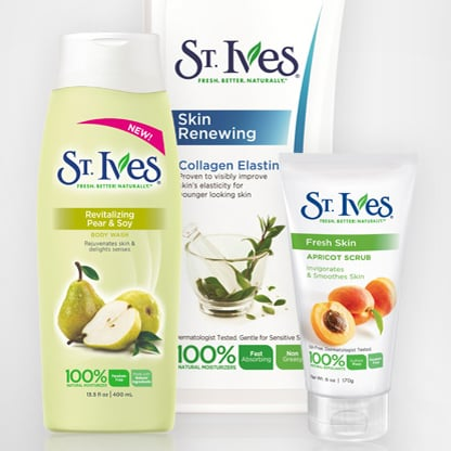 Enter For a Chance to Win a Gift Basket of St. Ives Product