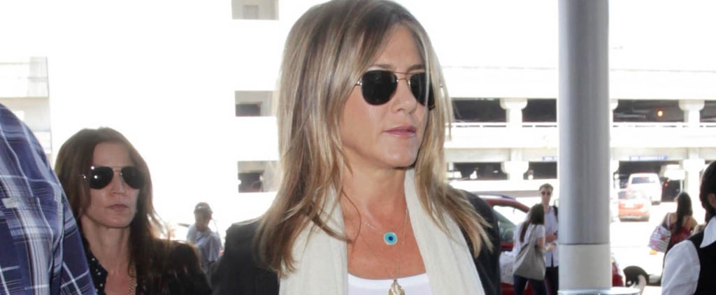 Jennifer Aniston Jets Out of LA After Her Personal Essay Goes Viral