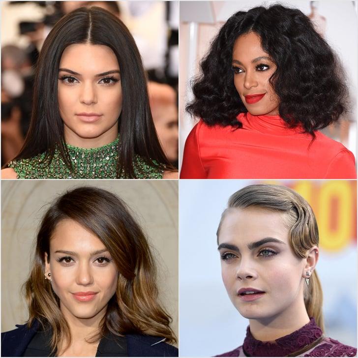 Celebrity Holiday Hair Ideas 2015