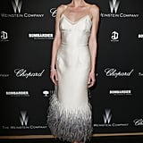 Anne Vyalitsyna at The Weinstein Company's Academy Awards Party