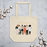Empowered Women Empower Women Eco-Friendly Canvas Feminist Tote Bag