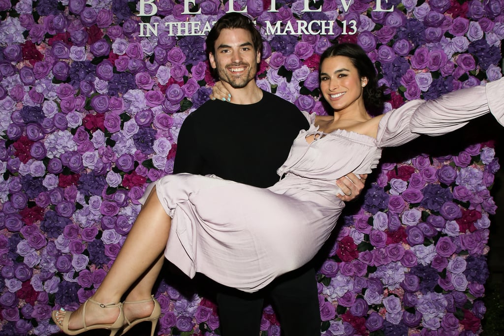 Jared Haibon and Ashley Iaconetti at I Still Believe Screening