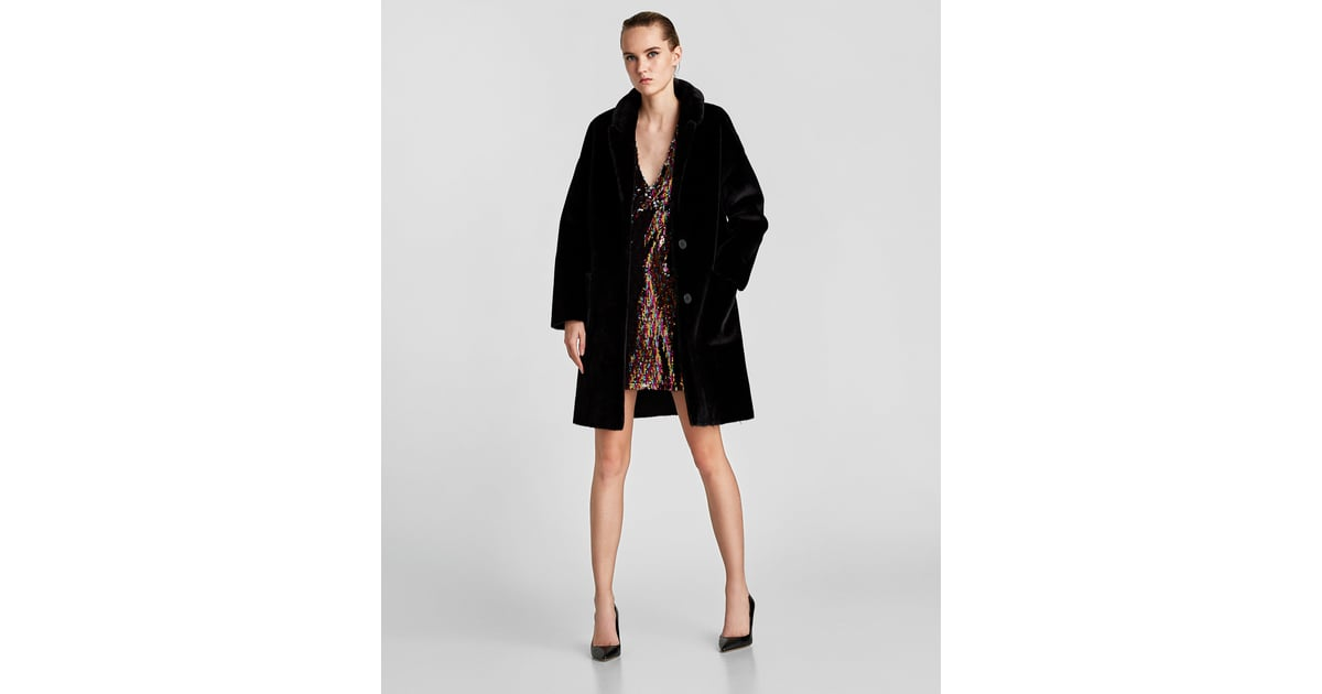 This season's outerwear for women to stay in style at ZARA online. Receive your order with FREE SHIPPING. down or faux fur on the coldest of days. Flowy and ultralight pieces for milder temperatures. Get inspired with the complete collection online, updated weekly. DOUBLE FACED FAUX FUR COAT. PLAID COAT. MASCULINE COAT. MASCULINE COAT.