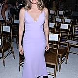 Alicia Silverstone at the Christian Siriano New York Fashion Week Show
