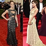 Jessica Alba at the 2013 and 2014 Met Galas