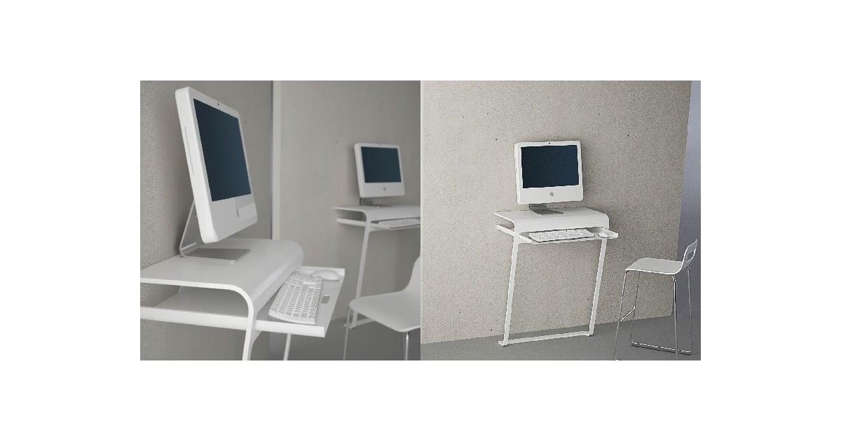 Minimalist Computer Desk minimalist computer desk from designspray | popsugar tech