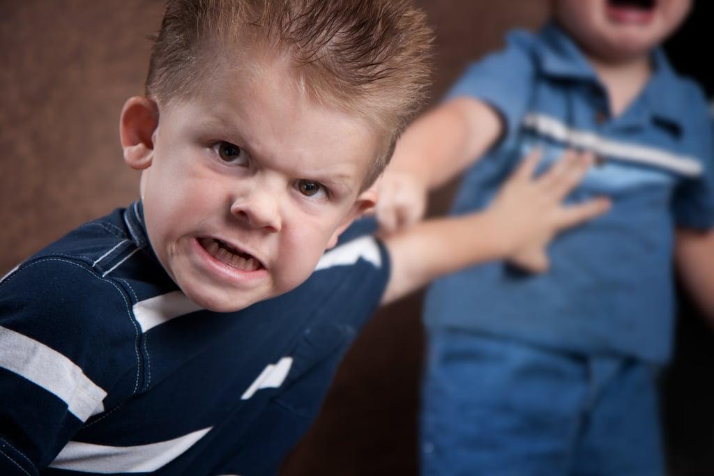 He Shows Agressive Behavior