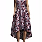 Monique Lhuillier Hi-Lo Floral Dress