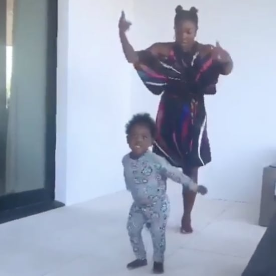 "Watch Gabrielle Union and Kaavia Dance to ""Lose Control"""