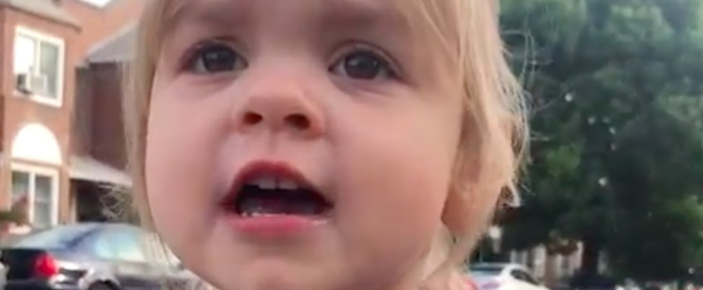 "Video of Toddler Telling Mom ""I Love You and I Trust You"""