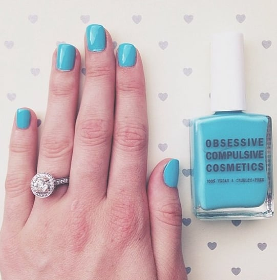 How cute is @wearinla wearing her  @occmakeuppolish from the May box? #regram #poolboy #may #musthavebox #occ