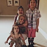 Brit and her boys spent quality time with her niece Lexie in August 2015. The little lady, who is the daughter of Britney's brother, Bryan Spears, later got cute with the family at the Teen Choice Awards.