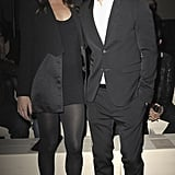 Liv Tyler and Justin Timberlake make an appearance at Givenchy in co-ordinating ensembles.