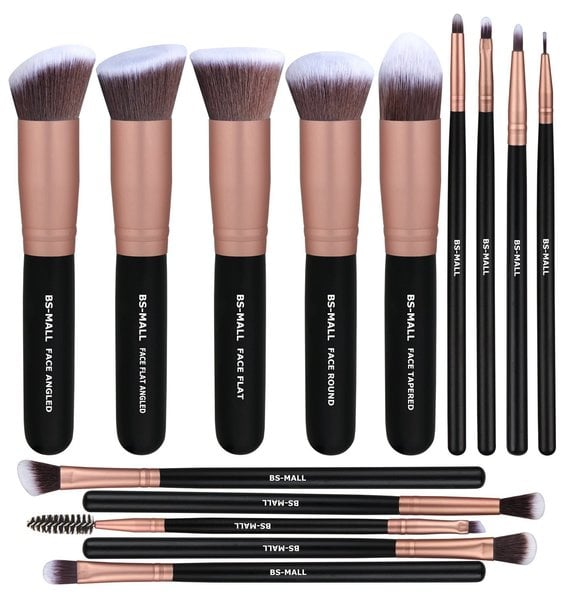 Rose Gold Makeup Brushes On Amazon Popsugar Beauty