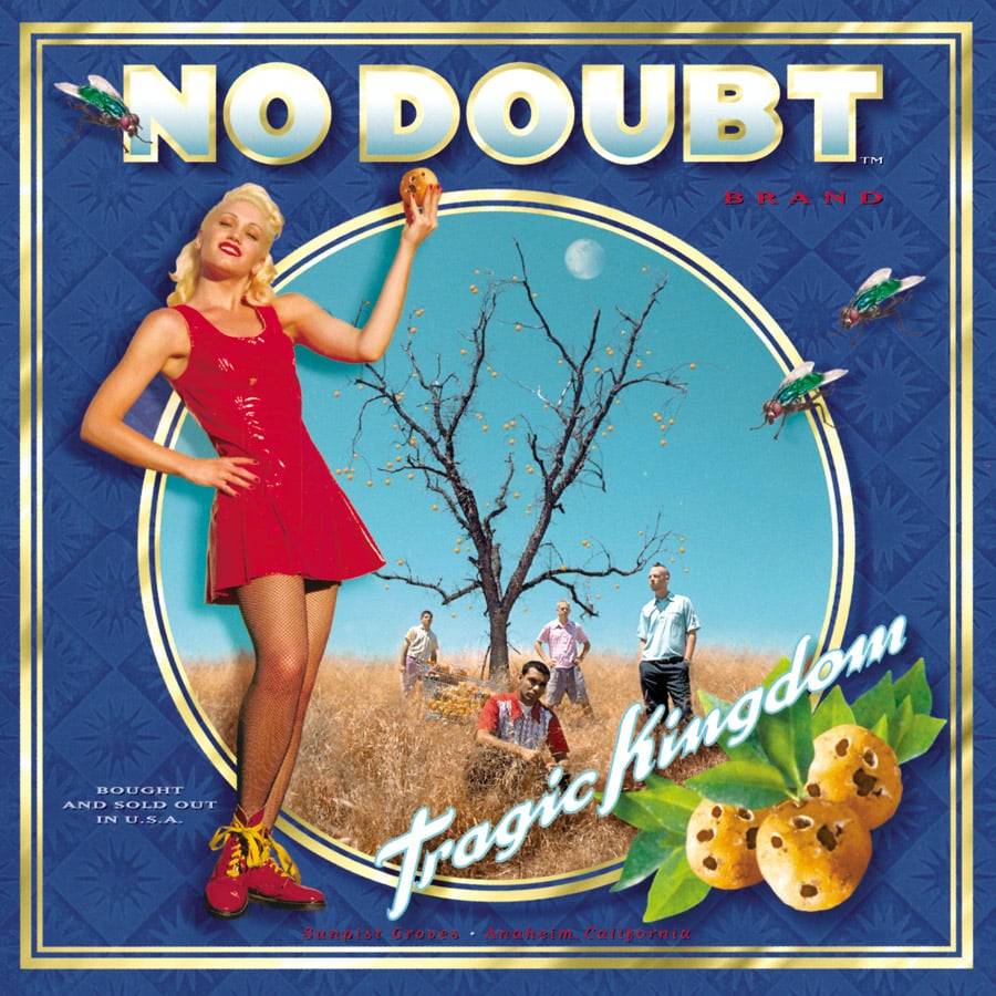 "Tragic Kingdom by No Doubt I think I could still sing this album all the way through, beginning with ""Spiderwebs."" I've loved Gwen Stefani ever since, and that's going on almost two decades! — Annie Gabillet, news editor"