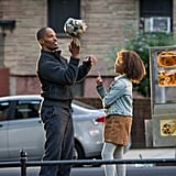 Jamie Foxx and Quvenzhané Wallis star in Annie.