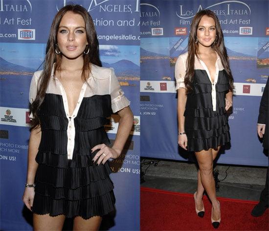 Lindsay Lohan at Italia Film, Fashion & Art Fest