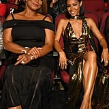 Queen Latifah and Jada Pinkett Smith