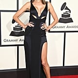 When Alessandra Ambrosio's Versace Dress on the Grammys Red Carpet Was One of the Best . . .