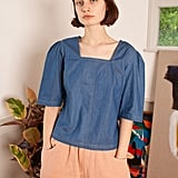 L.F. Markey Maximillion Top Chambray