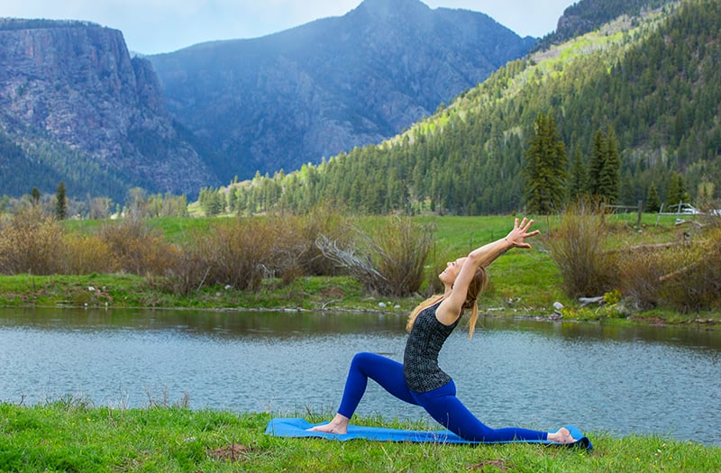 Stretch It Out in Cannabis Yoga