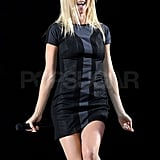 Gwyneth Paltrow performed at London's 02 Arena.