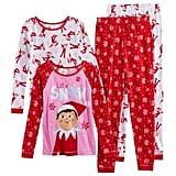 Four-Piece Cotton Pajamas (Girls)