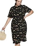 POPSUGAR Plus Size Printed Midi Dress