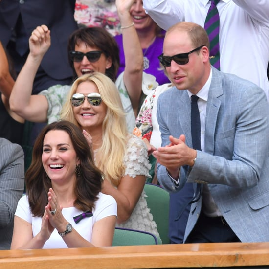 Celebrities at Wimbledon Tennis 2017