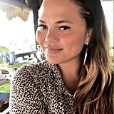 Chrissy Teigen's Headband of the Day