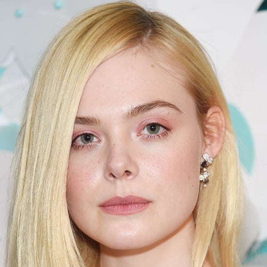 Elle Fanning's Pink Hair 2018