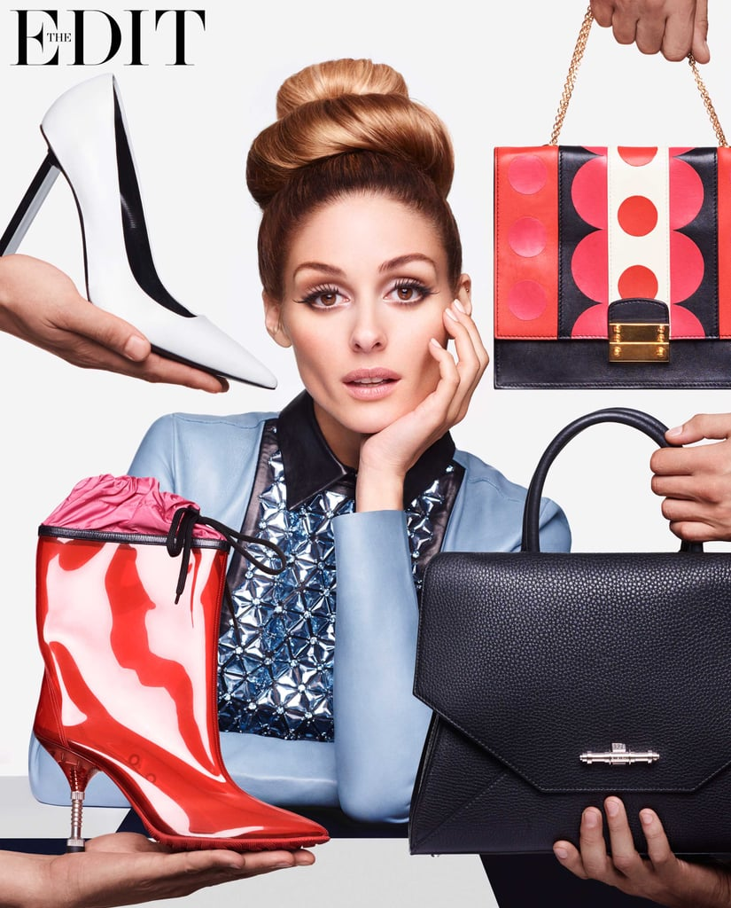 Olivia Palermo on the Cover of The Edit