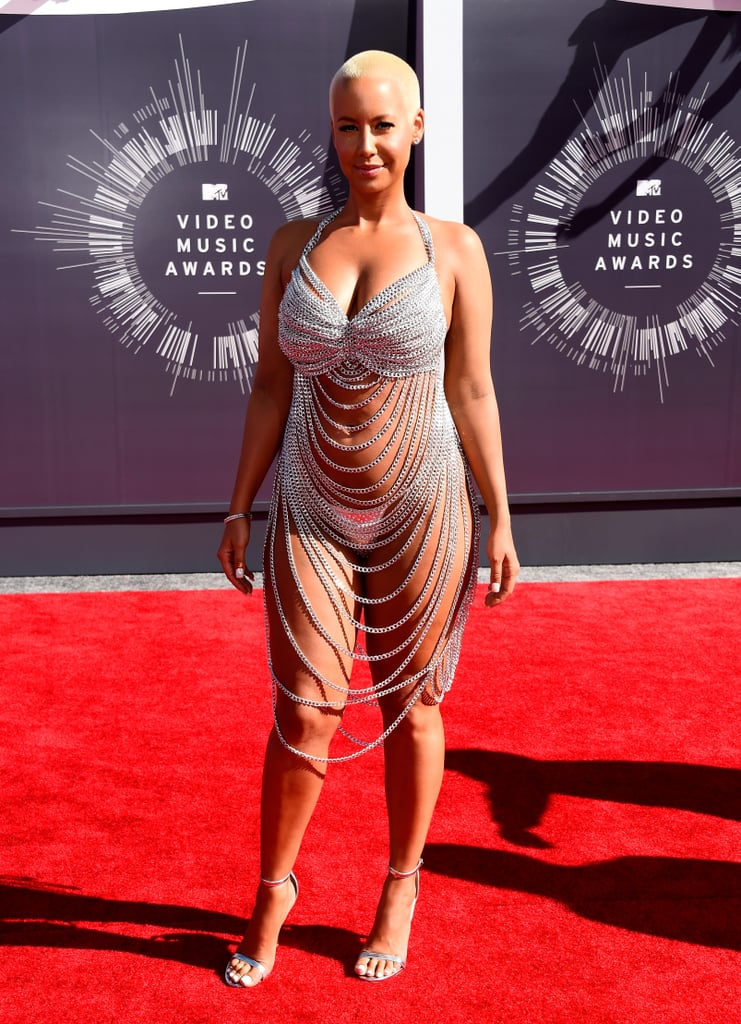 Amber Rose at the 2014 MTV VMAs